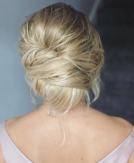 soft undone wedding hair