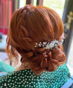 soft braided upstyle
