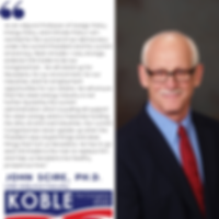 PhD, Adjunct Professor of Foreign Policy, Energy Policy, & Climate Policy, UNR endorses Clint Koble for NV-2