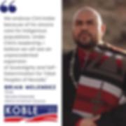 Brian Melendez endorsement of Clint Koble
