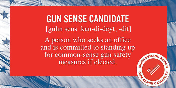 Moms Demand Action Gun Sense Candidate Definition