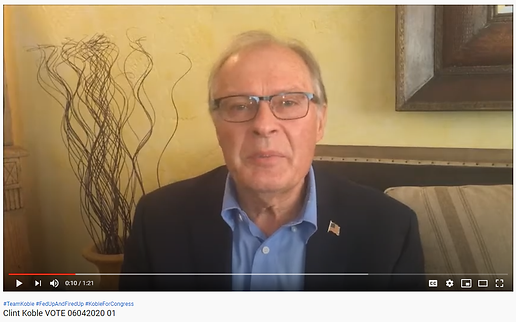 Clint Koble explaining why you should vote in the Nevada Primary