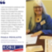 Paula Povilaitis endorses Clint Koble for Congresseman in Nevada CD2 (NV-2)