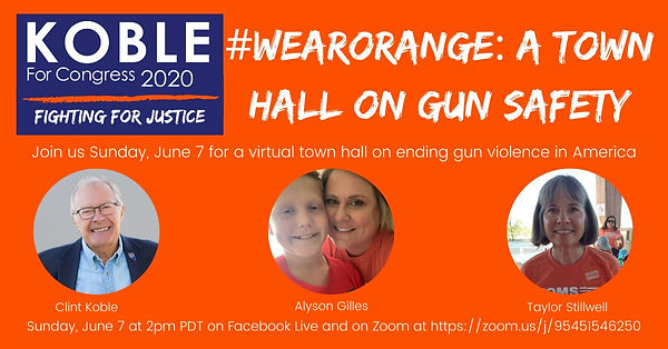 #WearOrange: A Town Hall on Gun Safety