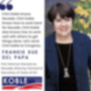 Frankie Sue, a Nevada political pioneer, endorses Clint Koble for Congress in 2020