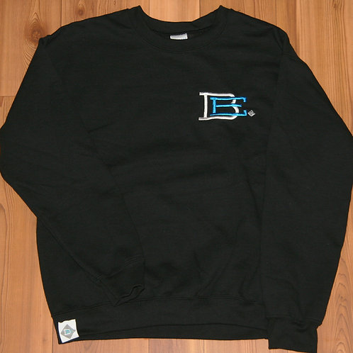 BE. Crewneck Black