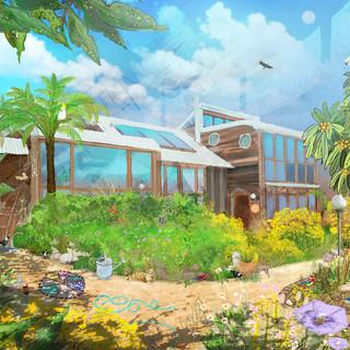 A designer self built home in Farier