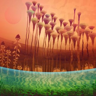 Forgotton swamps of titan