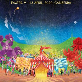 National Folk Festival Poster