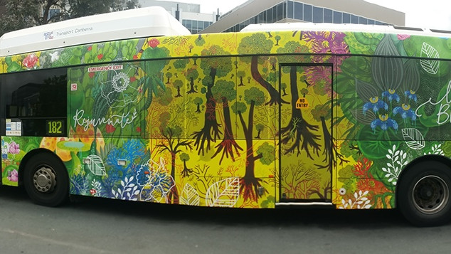 2017 Floriade Bus wrap