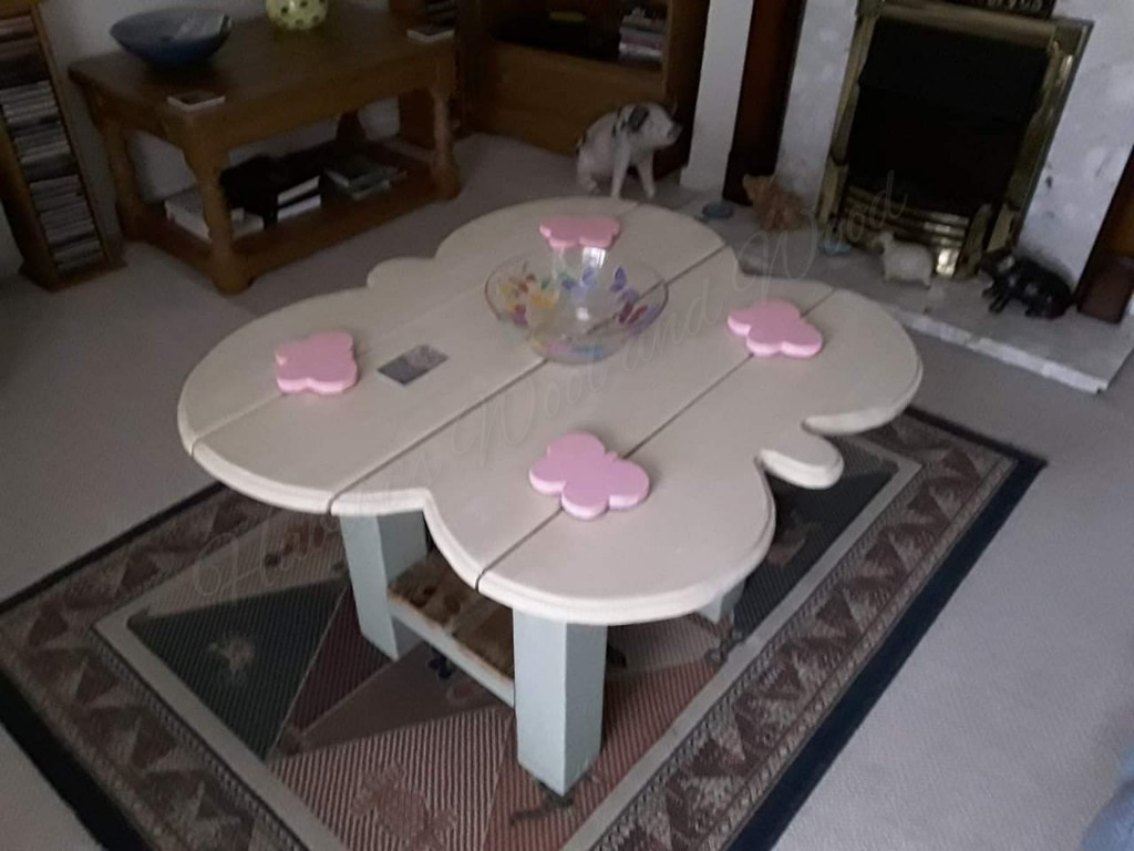 Butterfly coffee table.