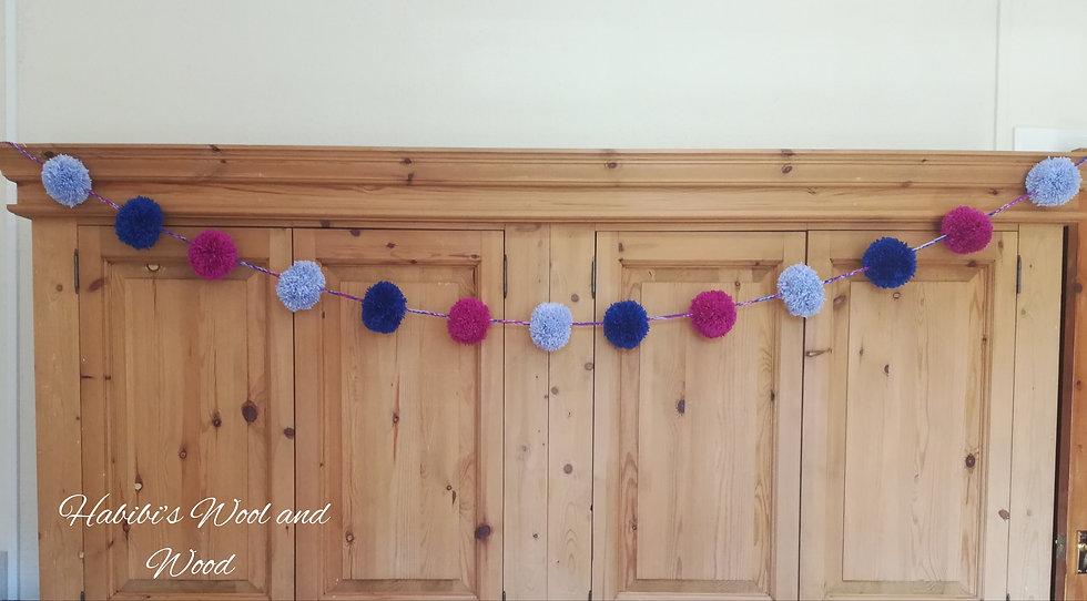 Pom Pom Garlands | Home Decor | Nursery Decor