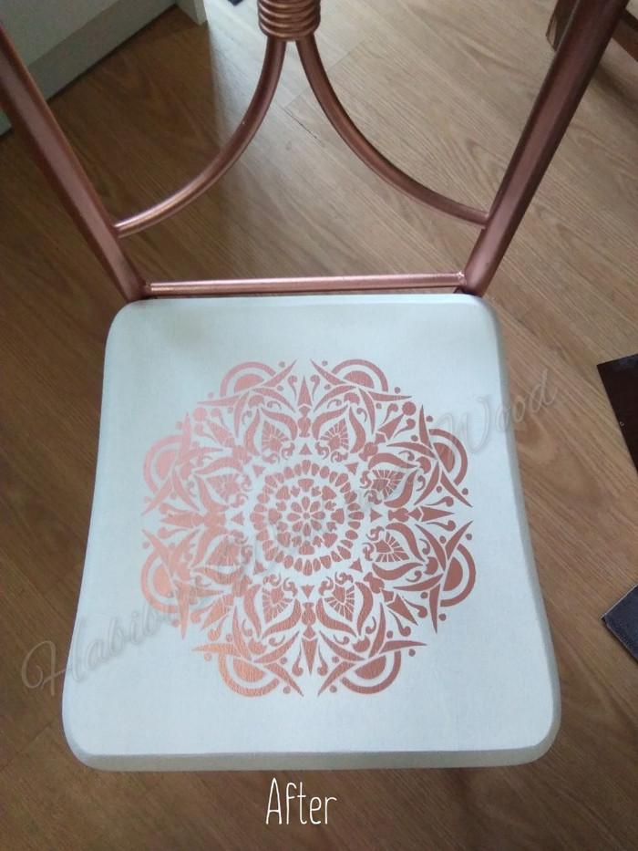 Mandala chair restoration.
