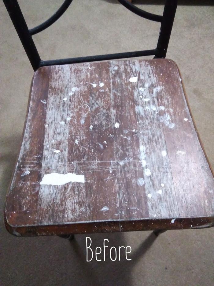 Mandala chair restoration