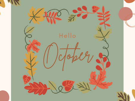 Happy Friday and 1st of October!