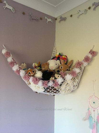 Toy storage/Teddy hammock