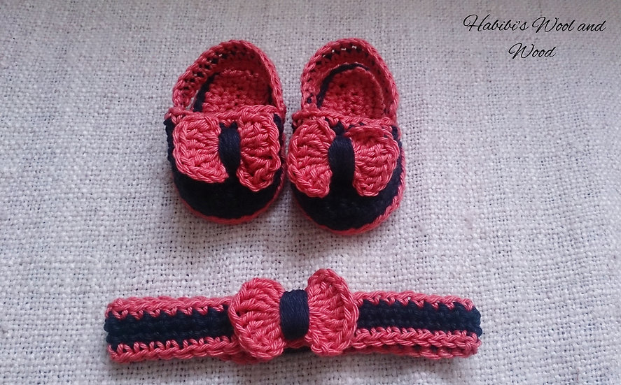 Bow headband and sandals