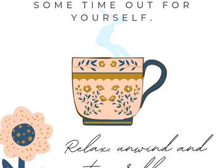 Don't forget to take time out for yourself!
