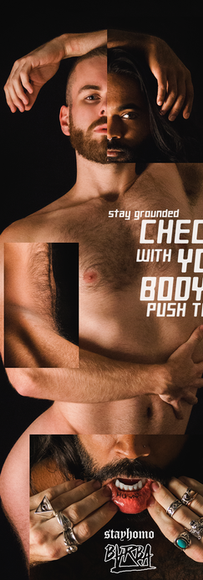 """""""Check in with your body, don't push too hard"""""""