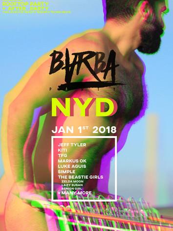 BARBA NYD 2018