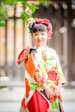 七五三 出張撮影 明治神宮 7歳 女の子 女性カメラマン 横浜