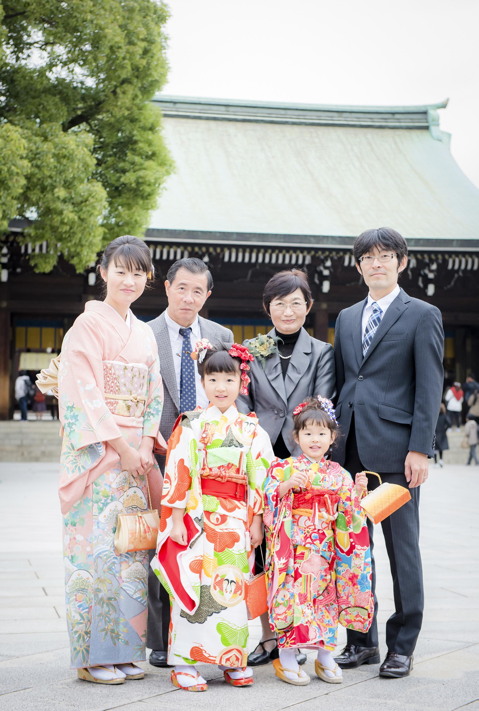 七五三 出張撮影 明治神宮 家族写真 女性カメラマン 横浜
