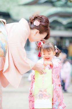 七五三 出張撮影 亀有香取神社 女性カメラマン 横浜