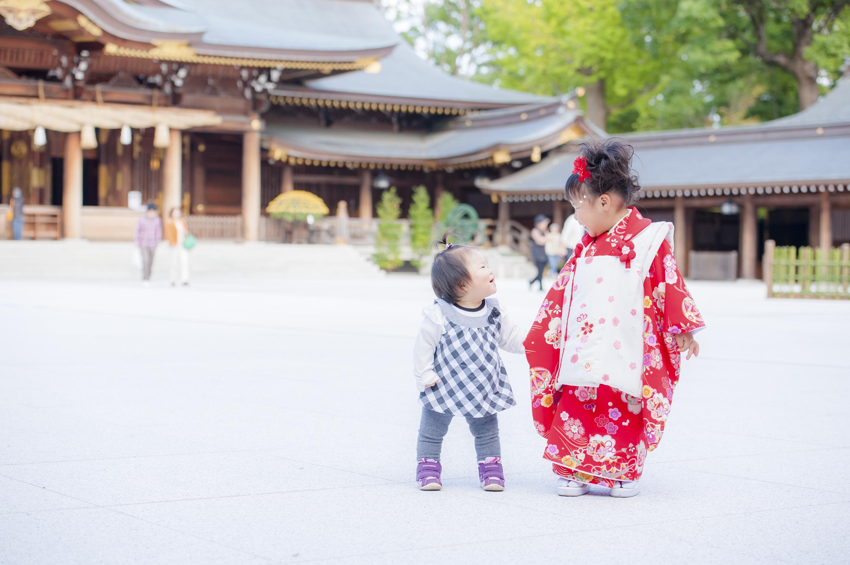 七五三 出張撮影  寒川神社 3歳 女性カメラマン 横浜