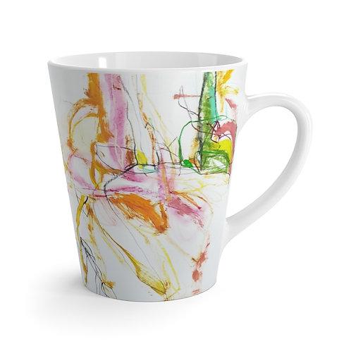 Line Dance Latte mug