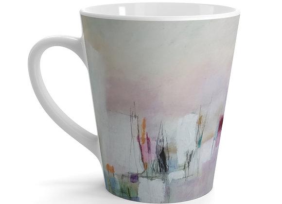 Blossom Softly Latte mug