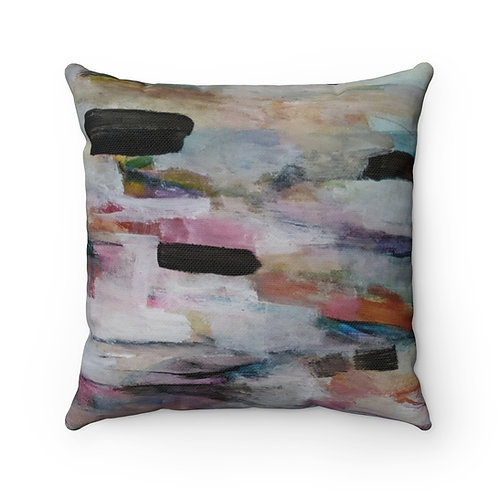 Tidal III Spun Polyester Square Pillow