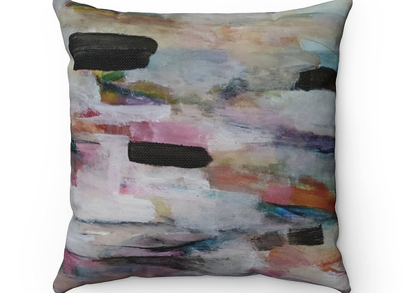 Tidal III Spun Polyester Square Pillow