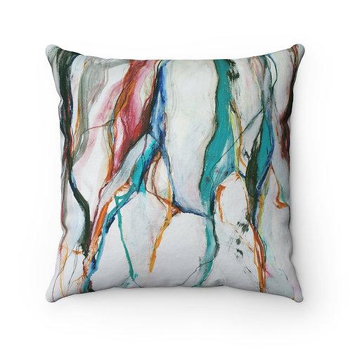 Bramble Spun Polyester Square Pillow