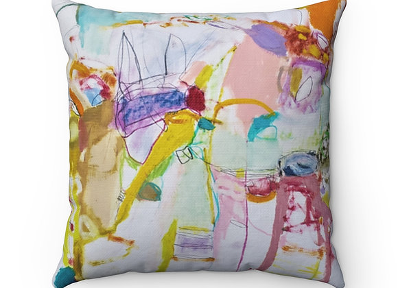 Play for Me Spun Polyester Square Pillow