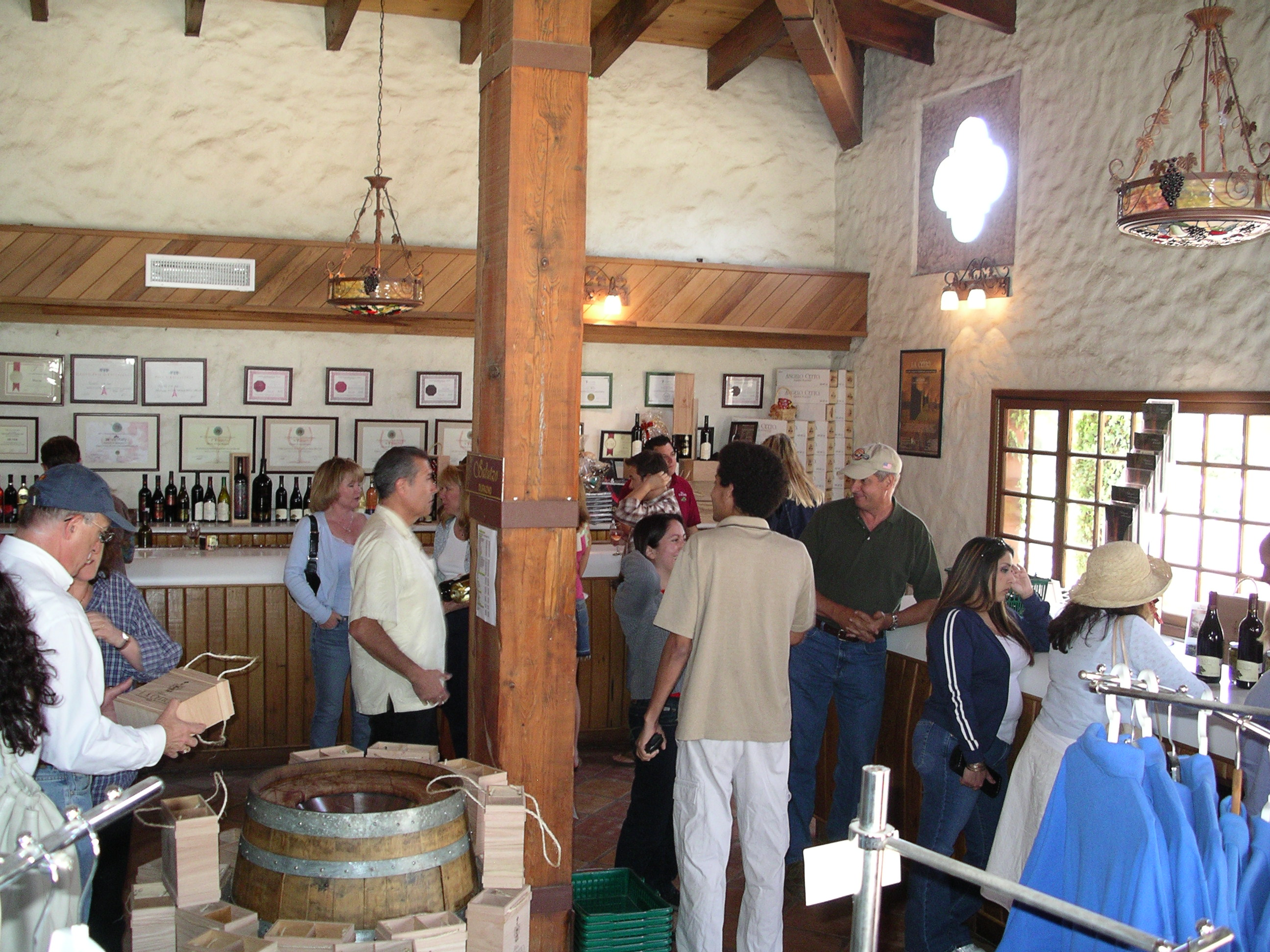 Cetto tasting room