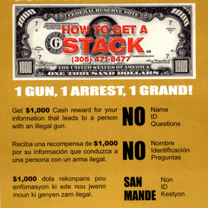 GUN BOUNTY PROGRAM