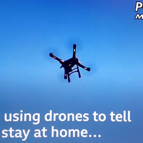 BBC Reports that Spain is using Drones to tell people to stay home.