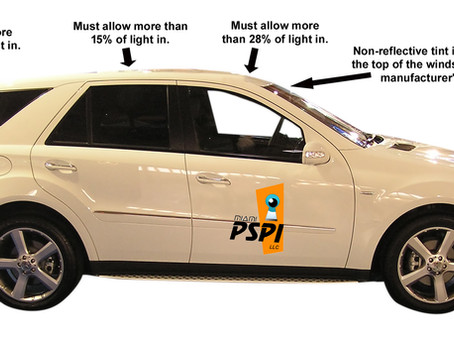Before Tinting Your Vehicle Windows, Know The Laws.