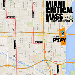 Critical Mass Miami is this Friday 6/24/2016.