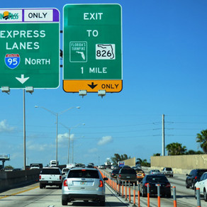 2 NEW ENTRANCES AND EXITS ON I-95. GRIDLOCK MUCH?
