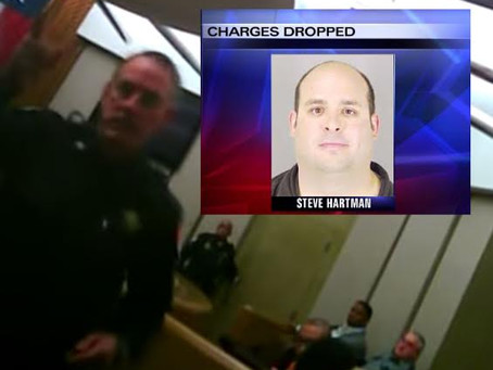 HIDDEN CAMERA EXONERATES PROCESS SERVER ARRESTED FOR SERVING A JUDGE.