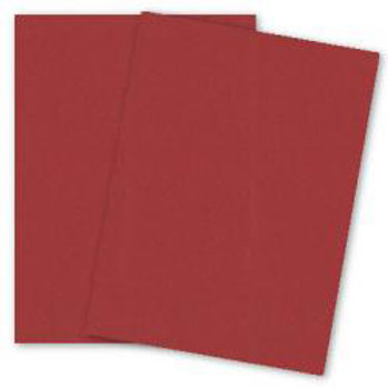 Metallic RED LACQUER Card Stock