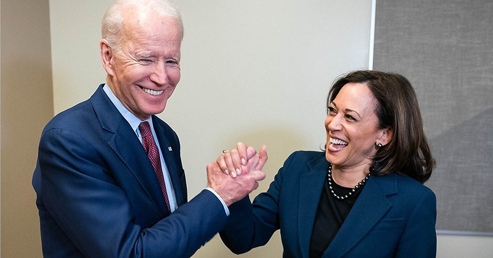 President Joe Biden and Madame Vice President Kamala Harris