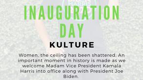 Inauguration Day! Welcome Madam VP