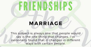 Marriage & Friendships