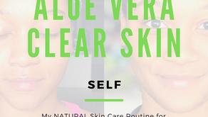 Aloe Vera Clear Skin Routine