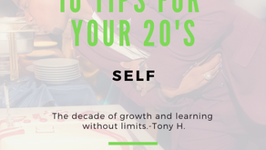 10 Tips For Your 20's