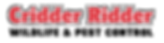 Cridder Logo 2020 - Wildlife & Pest Cont