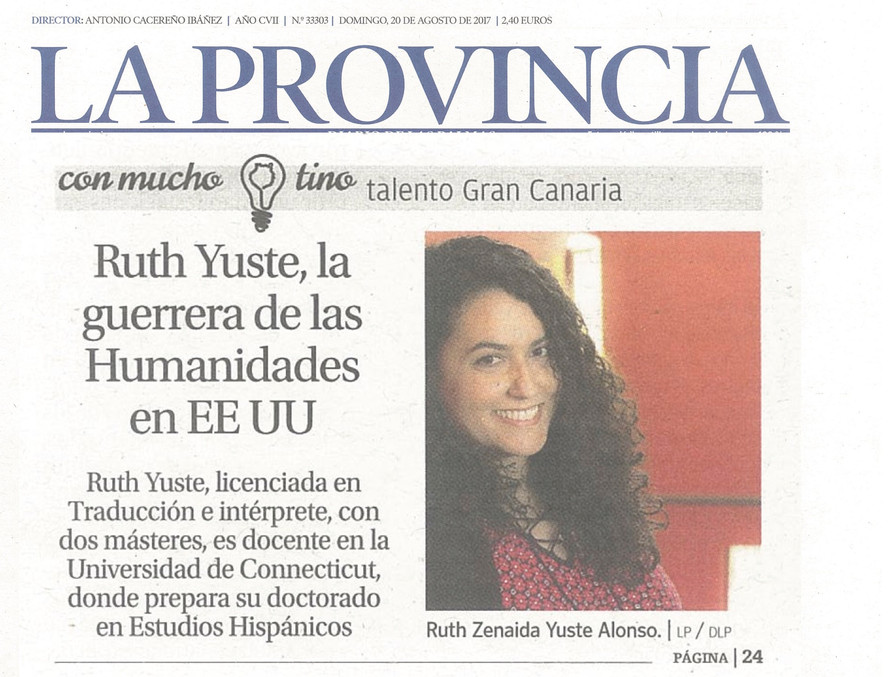 Interview to Lindolenex Member Ruth Z. Yuste Alonso
