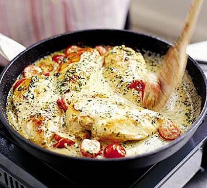 Chicken summer stew